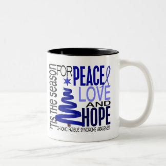 Christmas 1 CFS Chronic Fatigue Syndrome Coffee Mugs