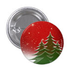 Christmas 1 Inch Round Button