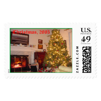 Christmas, 2005 postage