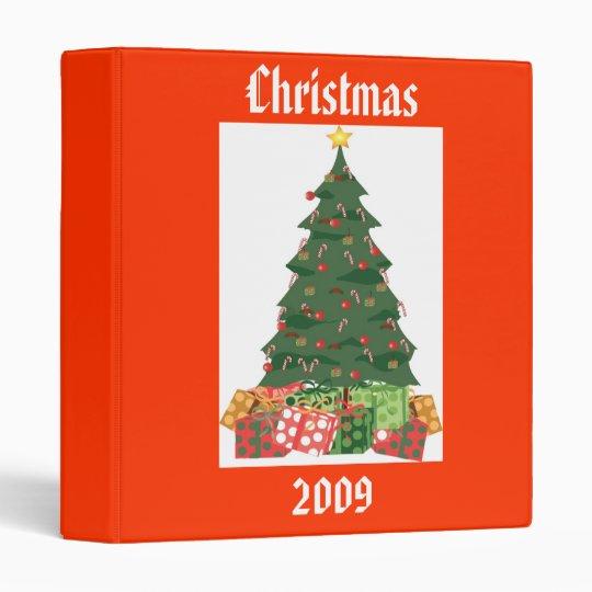 Christmas 2009 Photo Album - Designer Photo Album Binder