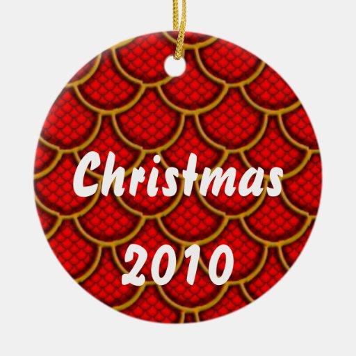 Christmas 2010 christmas tree ornaments