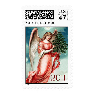Christmas 2011 Christmas Angel Postal Stamp