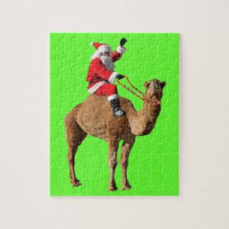 Christmas 2013 Hump Day Camel and Santa Jigsaw Puzzle