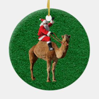 Christmas 2013 Hump Day Camel and Santa Christmas Ornaments
