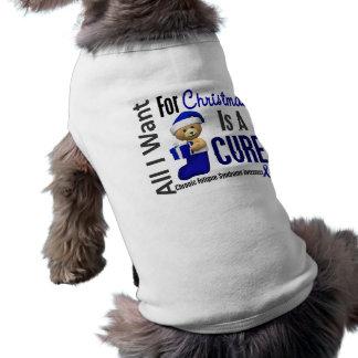 Christmas 2 CFS Chronic Fatigue Syndrome Dog Tee