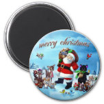Christmas 2 Inch Round Magnet