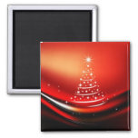 CHRISTMAS 2 INCH SQUARE MAGNET