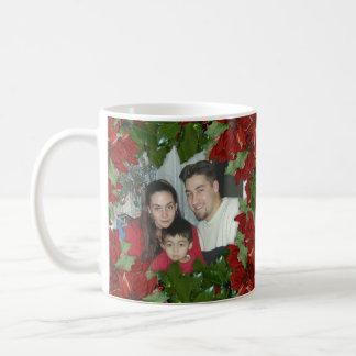 Christmas 2 photos mug