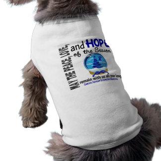 Christmas 3 CFS Chronic Fatigue Syndrome Dog Tee Shirt