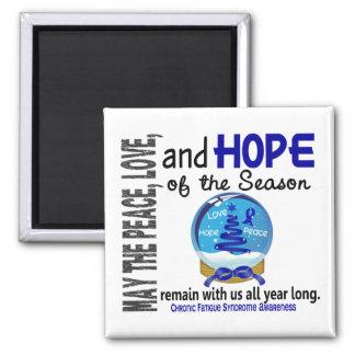 Christmas 3 CFS Chronic Fatigue Syndrome Magnet
