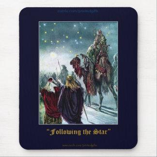 Christmas 3 Wise Men Nativity Scene Mouse Pad