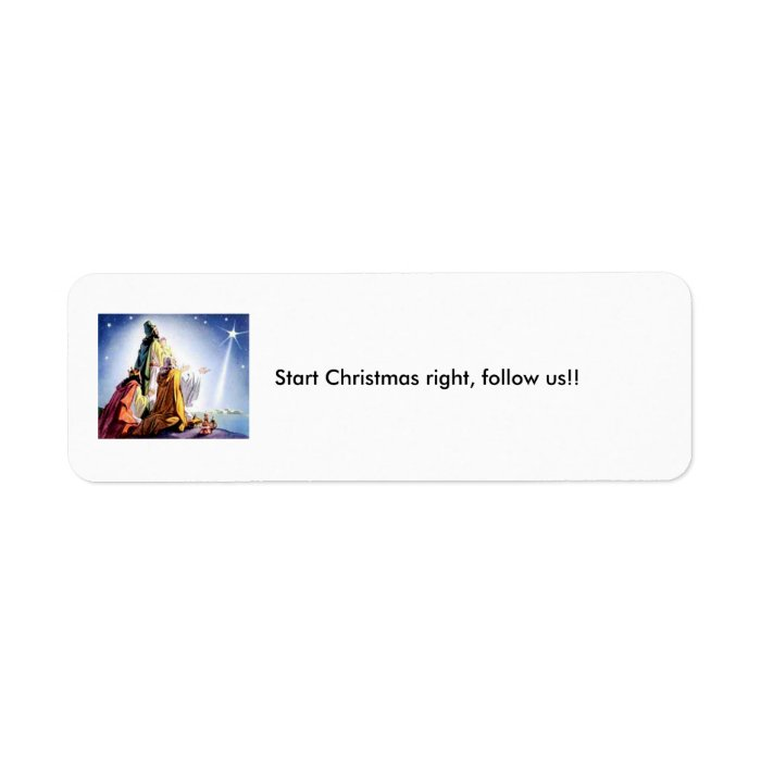 christmas_3_wisemen_5, Start Christmas right, f... Label