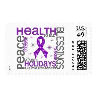 Christmas 4 Bulimia Snowflakes Stamp