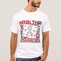 Christmas 4 Mesothelioma Snowflakes T-Shirt