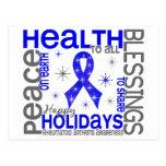 Christmas 4 Rheumatoid Arthritis Snowflakes Post Cards