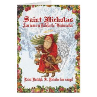 Christmas 4 Saint Nicholas Card