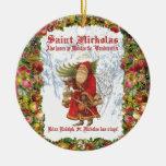 Christmas 4 Saint Nicholas the Wonderworker Christmas Ornament