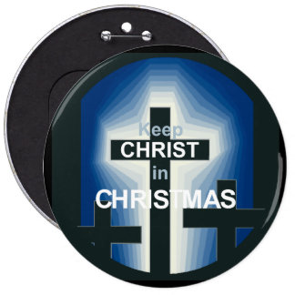 "CHRISTMAS 6"" Button"