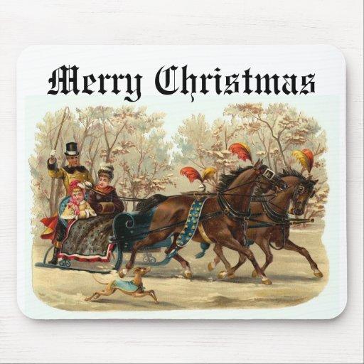 CHRISTMAS (80), Merry Christmas Mouse Pad