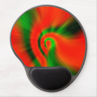 Christmas Abstract Gel Mouse Pad