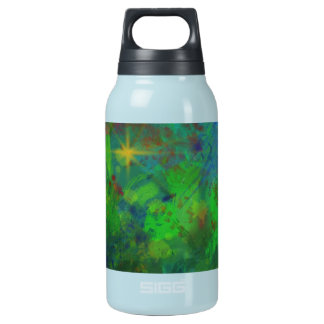 CHRISTMAS ABSTRACT INSULATED WATER BOTTLE