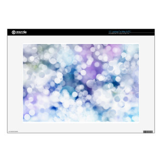 "Christmas abstract lights background skins for 15"" laptops"