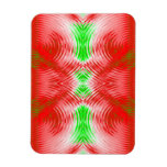 Christmas Abstract Rectangle Magnet