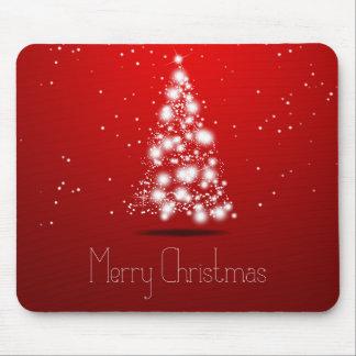 Christmas abstract tree mousepad