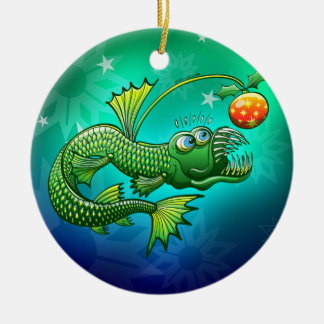 Christmas Abyssal Angler Fish Ornament