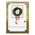 Christmas Address Change Greeting Greeting Card