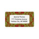 Christmas Address Labels Address Label
