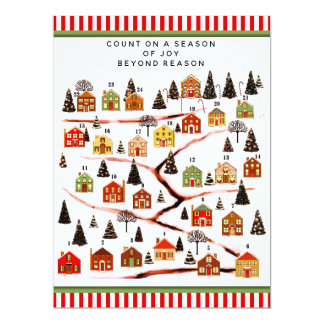 Christmas Advent Calendar Cards