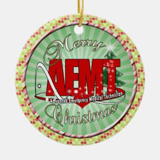 CHRISTMAS AEMT Advanced Emergency Medical Tech Ceramic Ornament