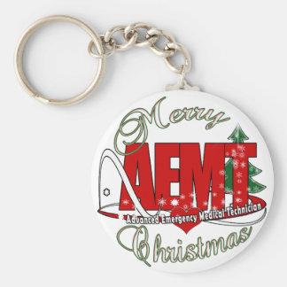 CHRISTMAS AEMT Advanced Emergency Medical Tech Keychain