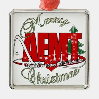 CHRISTMAS AEMT Advanced Emergency Medical Tech Metal Ornament