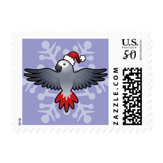Christmas African Grey / Amazon / Parrot Postage
