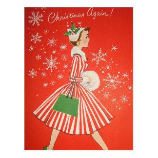 Christmas Again! Postcard