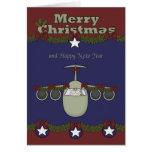 Christmas, Air Force Greeting Card