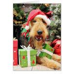 Christmas - Airedale - Kiehn Card
