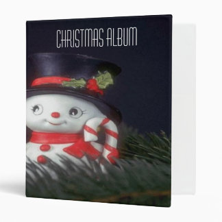 Christmas Album 3 Ring Binder