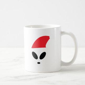 Christmas Alien Classic White Coffee Mug