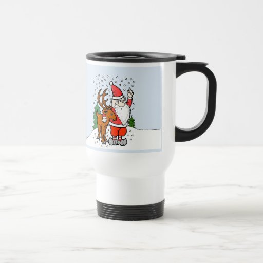 Christmas All I Want Travel Mug