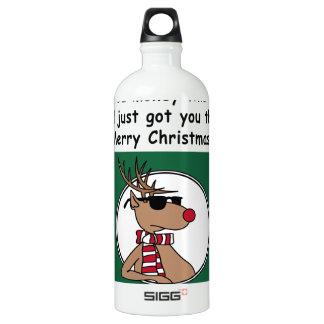 Christmas Aluminum Water Bottle