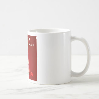 Christmas and candles coffee mug