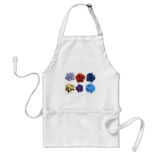 Christmas and Decorative Bows Adult Apron