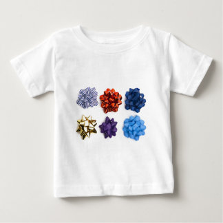 Christmas and Decorative Bows Baby T-Shirt