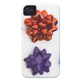 Christmas and Decorative Bows iPhone 4 Case