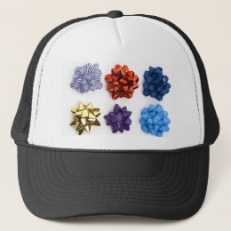Christmas and Decorative Bows Trucker Hat