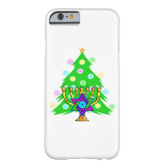 Christmas and Hanukkah Barely There iPhone 6 Case
