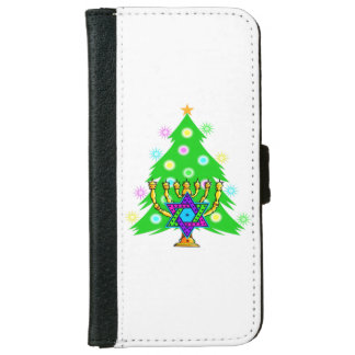 Christmas and Hanukkah iPhone 6/6s Wallet Case